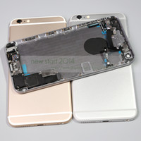 batery phone - for iPhone plus Full Back Housing Assembled Complete Replacement Metal Back Cover Phone Case Batery Door