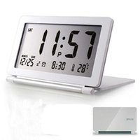 Wholesale High Quality Function Digital Alarm Clock Temperature Tester Snooze LCD Display