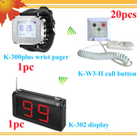 Wholesale Quality Controlled Medical Devices Wireless Hospital Nurse Call System with Doctor Display Pager Nurse Watch Pager Calls