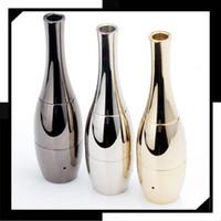 vase ceramic - Vase cannon Bowling Atomizer wax Dry Herb herbal Vaporizer tank wax Double ceramic coil Dual Quartz Coils Vase Metal Vape vase vapor