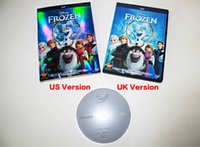Wholesale Christmas Cartoon frozen DVD movies Frozen US version or UK vision frozen dvd movies for Children movies factory selaed brand new
