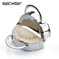 Wholesale Dough Press Dumpling Mold Stainless Steel Fast Making Dumplings Kitchen Tools Safe Food Mould Making Machine Cooking B005