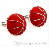 Wholesale Basketball Cufflink Pair Retail Promotion