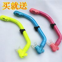 Wholesale Child loyol full dry breathing tube full dry a breathing tube submersible snorkeling