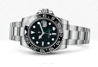 Luxury high quality automatic watches - New High quality Mens Luxury watch Automatic Ceramic Bezel Original Clasp Men Watches GMT II ln stainless steel man Wristwatch