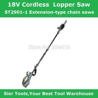 Wholesale Garden Power Tools V cordless lopper saw ST2901 rechargeable chain saw Sier m electric chain saw with telescopic handle