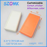 battery enclosure - 3 AA battery holder plastic enclosure mm plastic handheld case top sales electronics box