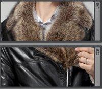 astrakhan coat - Fall The free delivery astrakhan men clothing xl waterproof jacket winter genuine raccoon fur coat