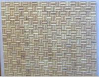 Wholesale Small box floor Mosaic floor floor fight Medallion Asian pear Sapele wood floor Private custom Burmese teak wood floor Bevel floor fight