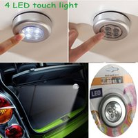 Wholesale Mini Light LED Touch Lamp Batteries Powered Touch Stick On Night Light For Tent Car Bike Wardrobe Portable Light for child