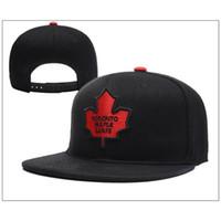 Wholesale Toronto Maple Leafs Hats Hot Selling Snapback Hats Sports Caps Adjustable hats Summer Hats Cheap Hip Hop Snapbacks Hockey Caps