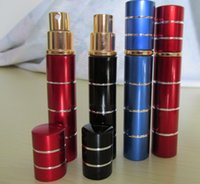 Wholesale Self Defense Device Lipstick StyleTear agent pepper spray ML Pink colors