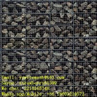 Wholesale 0 m Gabion Retaining Wall Hot dipped Galvanized Wire Material