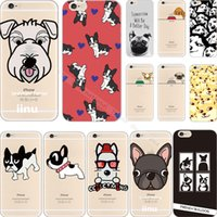 apple hot dogs - Hot New Arrivals Dogs Soft Silicon Phone Back Cover Case For Apple iPhone S iPhone6 iPhone6S Cases Shell CAU GUK QPI UTK