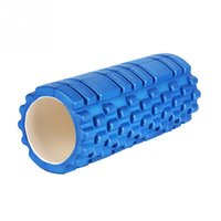 Wholesale 33x14cm EVA Yoga Foam Roller Pilates Massage Exercise Fitness Massage Physio Training Injury Trigger Point Pilates Foam Roller