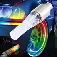 Wholesale Hot Selling Multi Function Car Bicycle Alarm Wheel Lights Lamp LED Tire Type K5BO