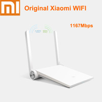 Wholesale Original best service original Xiaomi white Router Mini mi router dual band GHz GHz Maximum mbps support Wifi AC