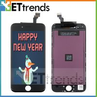 Wholesale For iPhone LCD Display Touch Screen Digitizer Full Assembly Inch with Earpiece Anti dust Mesh Installed Original LCD AA1395