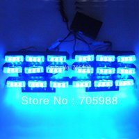 led emergency light bar - 6 LED Emergency light led Strobe Lights Bars Deck Dash Grille light car truck motor bike lamps