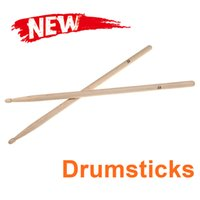 Wholesale Hot Sale Hot Sale Pair of A Maple Wood Drumsticks Stick for Drum Drums Set Lightweight Professional I344 Top Quality free ship