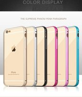 add frames - iphone6s arc metal color frame adds a transparent back cover Apple splus Phnom Penh Phone Case