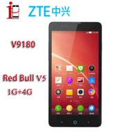 Wholesale Original ZTE V5 Red bull ZTE V9180 WCDMA Nubia Red Bull Mobile Phone MSM8926 Android x720 MP Camera GPS GB GB