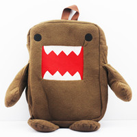 anime school bags - Domo Kun Plush Backpack Bag quot New for Xmas Gift baby School Bags