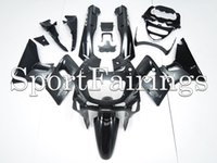 al por mayor carenado zzr-Carenados de inyección para Kawasaki ZZR-400 ZZR600 Año 93 94 95 96 97 Sportbike ABS Plástico Kit de carenado de motocicleta Carrocería Cowling Negro Gris