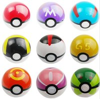Wholesale 9 colors Pokeball Pocket Monsters pikachu balls Cosplay New Pokeball Master balls great gifts for kids new arrival
