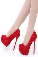 best bridal shoes - 2016 Vintage Lace Wedding Shoes Cheap Best Red Bridal Wedding Shoes Champagne Shoes Women High Heels Size US Wedding Dress