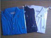 brand golf shirt - 2015 NEW brand Men s Paul unlined upper garment golf shirt quick dry T shirt Short sleeve shirt Casual fashion shirts US SIZE M XXL