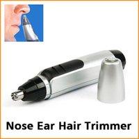 Oído, nariz eléctrica de eliminación de pelo de la cara del condensador de ajuste la máquina de afeitar de las podadoras del limpiador del removedor