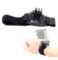 Wholesale 360 Degree Rotation Wrist Hand Strap Band Holder with Mount for GoPro Hero4