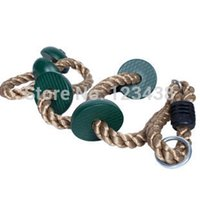 Wholesale Kids Green Disc Climbing Rope Child Outdoor Sports