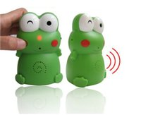 Wholesale Mung bean Frog Welcome device with Sound recording High cm