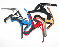 Wholesale Capos Guitar Accessories Parts X Lightweight Acoustic Guitar Quick Change Capo Tuning Clamps For Music