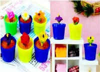 Wholesale 2014 High quality amazing Magic Flower Growing Flower Pet Amusement Toy Novelty Toy lazyboots plant without soil and fertilizer only water