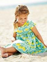 designer brand childrens clothes - 2015 Autumn Girls Clothes Lemon Princess Baby Dresses Fashion Kids Clothing for Girl Dress Designer Childrens Clothing for Age Y