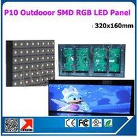 Wholesale 2016 HD Outdoor full color RGB x16 P10 led display module pixel scan drive DIP SMD P10 video led display board signs