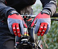 Wholesale Thermal Cycling Gloves Full Finger ROCKBROS Bicycle Gloves Men Women Winter Bike Gloves MTB Motorcycle Luvas Ciclismo Colors