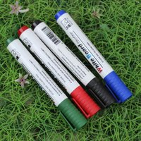 whiteboard pen - 50pieces cm Whiteboard Marker Pen White board Marker Dry Erase Marker Pen black blue Red Green colors