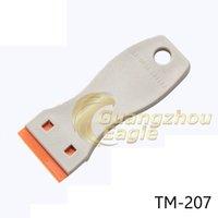 best single blade razor - Best Retail Price Of cm car wrap tint tool Mini Scraper Window Scraper Single Edge Mini Razor Blade scraper with plastic blade