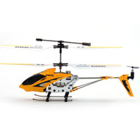 Wholesale Remote Control RC Helicopter Kit s Toys Metal edition with Gyro S107 CH Metal Yellow Red
