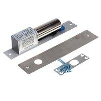 auto access control - Electric Drop Bolt Door Lock DC V Magnetic Induction Auto Deadbolt for Security Access Control System order lt no track