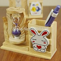 Wholesale Delicate Children Award Sandglass Pencil Holder Pen Holder Decoration Best Gift