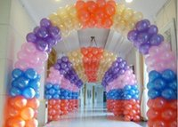 arch ballons - BL0203 pieces inch pearl balloons Party Decoration Birthday Balloons Latex arch for decoration globos ballons classic
