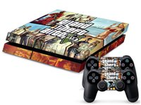 Cheap GTA 5 Collage 0141 DECAL SKIN PROTECTIVE STICKER for SONY PS4 CONSOLE CONTROLL