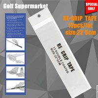 Wholesale Hot Sale Set Golf Grip Tape Double Sided Golf Club Grips Pre Cut Golf Rubber Strips Strong Adhesiveness