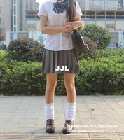 high school uniforms - 2015 skirt high quality Japan student JK school uniform preppy style pleated skirt anime girl women cos costume cosplay skirts for women