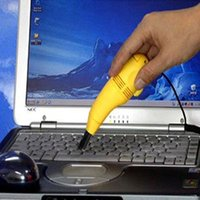 Cheap Creative mini usb keyboard vacuum cleaner Computer cleaner Computer keyboard brush USB vacuum cleaner Small appliances dust collector